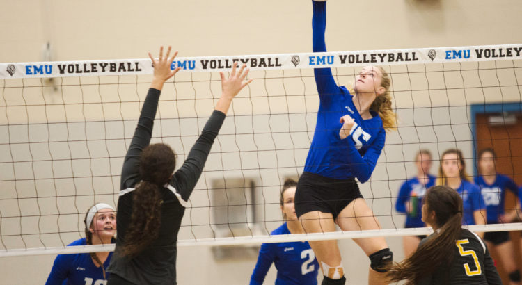 Beck Hoskins, Eastern Mennonite Women's Volleyball