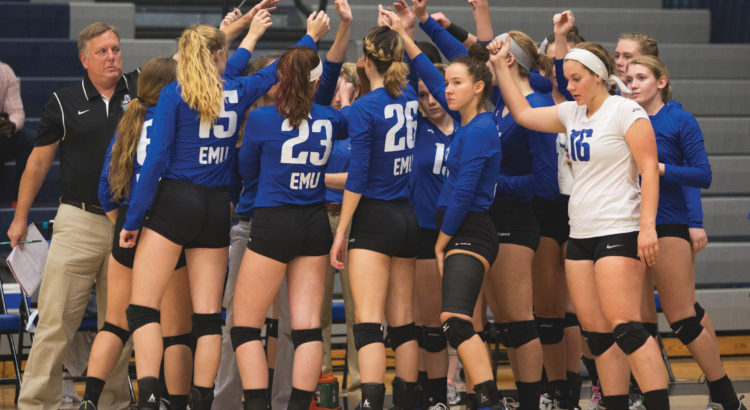 Eastern Mennonite Women's Volleyball 2017