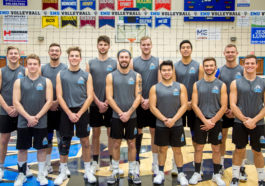 2018 EMU Mens Volleyball Team