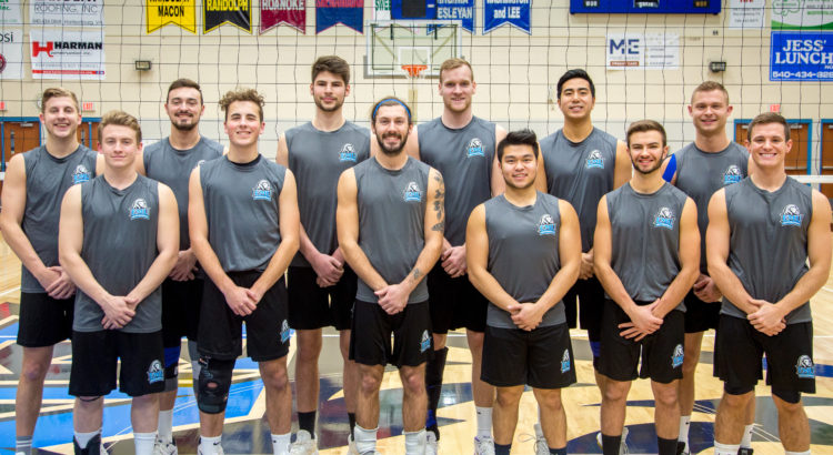 2018 EMU Mens Volleyball Team