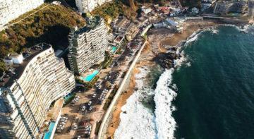 Cochoa Beach, Viña del Mar, Chile